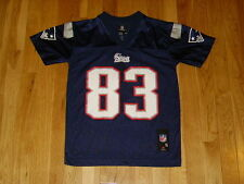 REEBOK WES WELKER NEW ENGLAND PATRIOTS NFL PLAYERS YOUTH REPLICA JERSEY SMALL 8