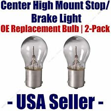 Center High Mount Stop/Brake Bulb 2pk - Fits Listed Cadillac Vehicles - 1156
