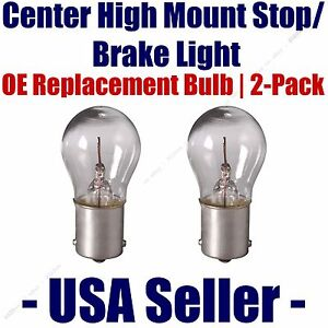 Center High Mount Stop/Brake Bulb 2pk - Fits Listed Dodge Vehicles - 1156