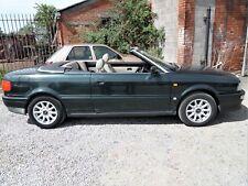 1996 AUDI CABRIOLET 2.6V6 AUTO MOT 28/03/19 105K FSH IDEAL CLASSIC CONVERTIBLE