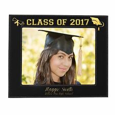 Personalized 8 x 10 Graduation Picture Frame - College Grad Gift for Student