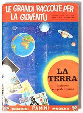 ALBUM FIGURINE INCOMPLETO - LA TERRA, il pianeta sul quale viviamo - PANINI 1966