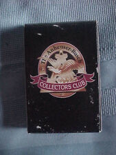Collectible Anheuser Busch Collectors Club Playing cards beer breweriana games