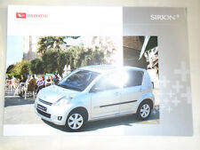 Daihatsu Sirion+ brochure c2000's