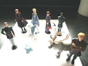 Disney Frozen 2 Figures Toppers Olaf Elsa Anna Sven Kristoff Bruni Nokk King ++
