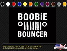 Jeep Boobie Bouncer Sticker - Decal Vinyl Wrangler Military Willys TJ 4x4 Oracal