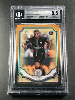 KYLIAN MBAPPE 2018 TOPPS MUSEUM CHAMPIONS LEAGUE #25 ROOKIE RC /99 BGS 8.5 W/2 9