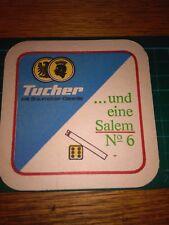 sottobicchiere beer mats birra bierdeckel TUCHER UND EINE SALEM N 6