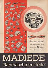 DRESDEN, Prospekt 1930, Spezial-Fabrik Nähmaschinen-Teile Max Dietze GmbH Madix