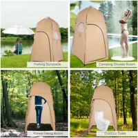 Camping Shower Shelter Tent Outdoor Changing Privacy Portable Toilet Bath Room