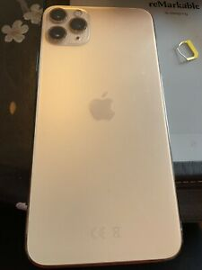 Apple iPhone 11 Pro Max - 64GB - Gold (EE) A2218 (CDMA + GSM), Excellent Cond.