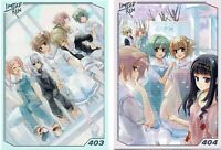 Nurse Love Syndrome Limited Run Games Silver Trading Card #403 #404 New NO Tears