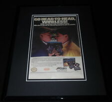 Nintendo Double Player 1989 Acclaim Framed 11x14 ORIGINAL Advertisement