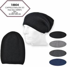 CHARRO Caldo Cappello Cuffia Lunga Invernale Uomo Taglia Unica Vari Colori