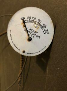 1929 Essex Temperature Guage Hudson 28 Line to sender is cut off