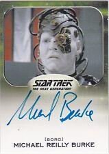 STAR TREK ALIENS 2014 MICHAEL REILLY BURKE GOVAL BORG TNG AUTOGRAPH LIMITED