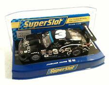 qq H 3013 SUPERSLOT JAGUAR XKRS ROCKET MOTORSPORTS No 3  - Scalextric UK -