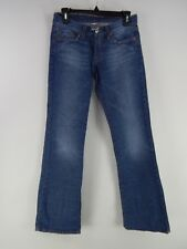 LUCKY BRAND SIZE 2 / 26 MID RISE FLARE MEDIUM WASH JEANS #5915AP