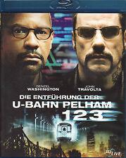 Die Entführung der U-Bahn Pelham 123 - Blu-ray - neuwertig - Washington Travolta