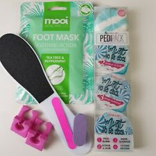 At Home Big Pedicure Kit / Kiara Sky / Mint To Be Cool / Pedipack / Free Gift
