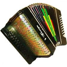 Ukrainian Button Accordion Bayan Harmonika Garmon, 2 Rows, 25 x 25, 366