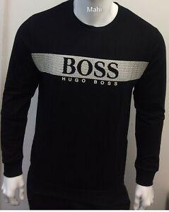 STYLIST BRAND NEW HUGO BOSS LONG SLEEVE CREW NECK SWEAT SHIRT FOR MEN