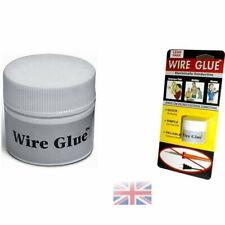 Conductive Wire Glue/Paint NO Soldering Iron/Gun Solder WIRE GLUE UK STOCK