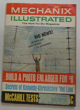 Mechanix Illustrated Magazine Build A Photo Enlarger November 1963 050515R
