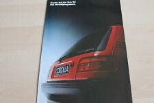120101) Toyota Starlet - Corolla - Celica - Carina Prospekt 09/1987