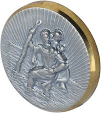 Herbert Richter HR 10210301 St. Christopher Medallion metal/PS - Made in Germany