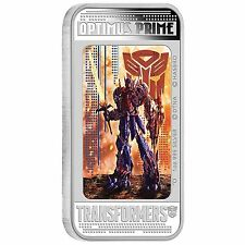 2014 Transformers: Age of Extinction OPTIMUS PRIME 1oz Silver Proof Coin