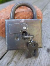 Russian Prison Padlock With Two Keys,  Collector