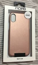 Brand New Incipio Fabric Wrap Case For iPhone X - Rose Gold