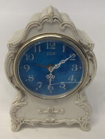 Vintage Elgin WIND-UP Analog Alarm Clock 85442 Made In Japan For Parts And Repa