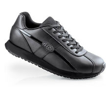 SFC Shoes for Crews Dreamer Black Leather Women's Shoes 9033 Sz 11.5 /45.5
