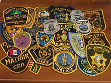 25 Patches Mixed States Police Patch Lot I