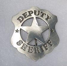 Deputy Sheriff Antique Western Replica Star Lawman Marshal Badge Police PH016