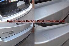 Rear Bumper Carbon Film Protection Sticker Vinyl Foil Fit VW Passat B8 4D 2015-