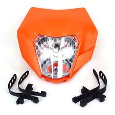 New Orange Headlight Head Light Lamp StreetFighter For KTM EXC XCF XCW SX SXF