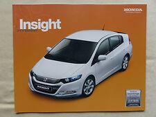 Honda Insight Hybrid - Prospekt Brochure 03.2009