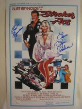 Burt Reynolds & Loni Anderson Signed STROKER ACE 11x17 Photo Poster - JSA WP COA
