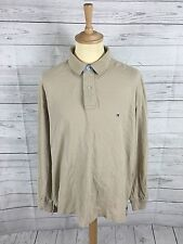Mens Tommy Hilfiger Long Sleeved Polo Shirt - XL - Great Condition