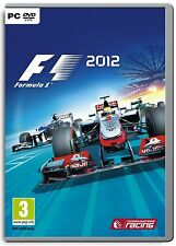 Computer PC Game F1 2012 Formula 1 12 DVD Shipping NEW