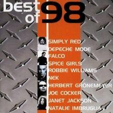 Best of '98 Depeche Mode, Robbie Williams, Spice Girls, Simply Red, Nek.. [2 CD]