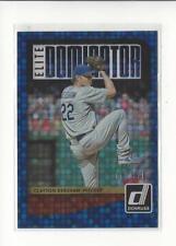 2016 Donruss Elite Dominators #ED18 Clayton Kershaw Dodgers /999