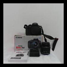 Canon EOS Rebel T6 18.0 MP Digital SLR - Black NEW