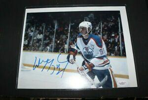 Wayne Gretzky Auto/Signed 8x10 Photo (Oilers) JSA COA! LooK!