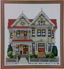 """Linden Hall (1901)"" Nancy Spruance Victorian House Cross Stitch Chart ©1991"