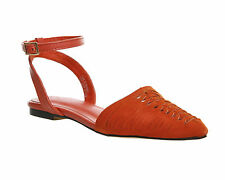 Flat (less than 0.5') Suede Slingbacks for Women