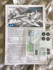 ICM 1/48 Spitfire Mk. VII  - NO BOX